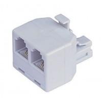 Konektor RJ11 6/4 rozdvojka telefonní