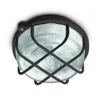 Svítidlo Kruh 100W E27 IP44 SKP-100/C černá
