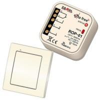 Bezdrátový vypínač + přijímač 1-kanálový Zamel RZB-01