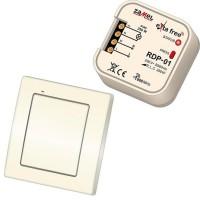 Bezdrátový vypínač + přijímač s funkcí stmívače Zamel RZB-02