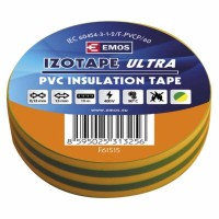 izolační páska PVC 15x10 žluto-zelená