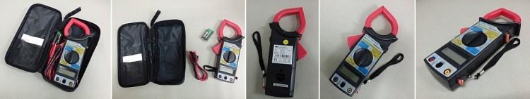 Klešťový digitální ampérmetr DMM266