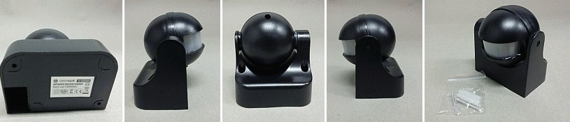 Pohybové čidlo Greenlux Sensor 70 B - černé