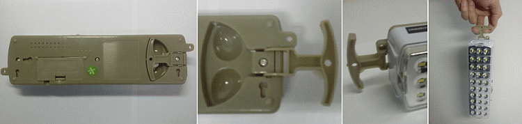 Ruční držák nouzového osvětlení