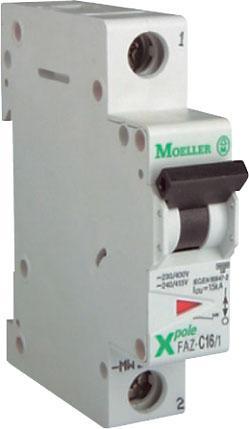 Jistič 50A jednofázový Moeller PL7-50/1/B