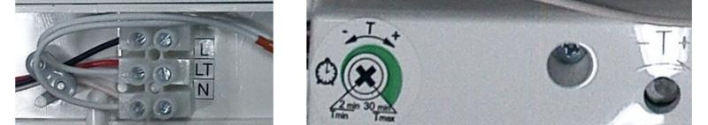 časový spínač ventilátoru