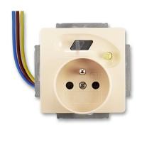Bezpeč. zásuvka s proud.chrán. s výst.chrán.vodiči ABB, 5526G-A02379 C1