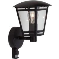 Svítidlo s čidlem Laura Z1503S-CR, černá