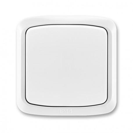 Venkovní tlačítko IP44 TANGO3558A-86940 B bílé ABB
