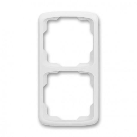Rámeček ABB TANGO 3901A-B21 B dvojnásobný svislý
