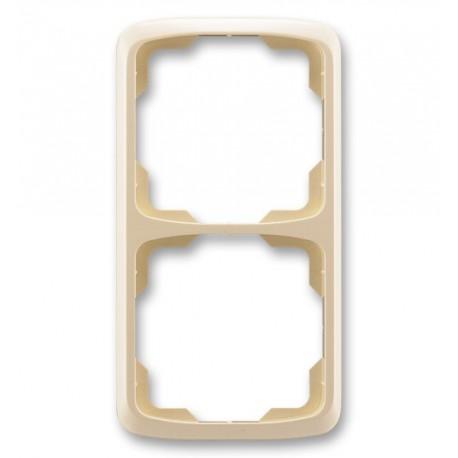 Rámeček ABB TANGO 3901A-B21 C dvojnásobný svislý