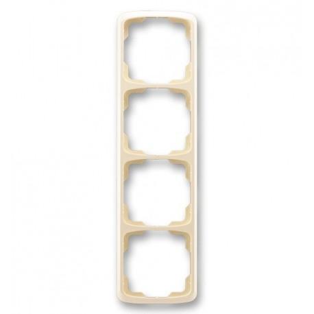 Rámeček ABB TANGO 3901A-B41 C čtyřnásobný svislý