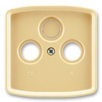 Kryt televizní zásuvky ABB Tango 5011A-A00300 D béžový