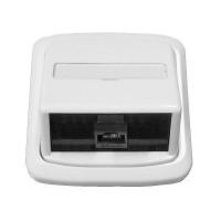 Datová zásuvka Tango 1x RJ45 bílá pro internet
