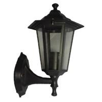 Zahradní svítidlo černé, Lucerna Z6101-CR/A nástěnná