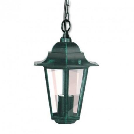 Zahradní osvětlení svítidlo patina, Lucerna Z6105-PAT závěsná