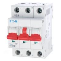 Jistič 10A třífázový PL7-10/3/C 10A Eaton
