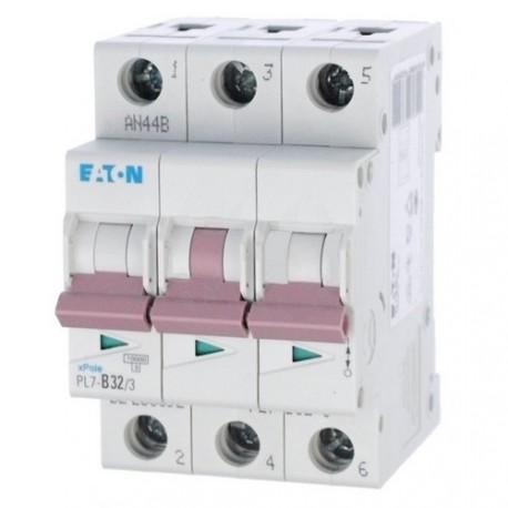 Jistič 32A třífázový PL7-32/3/B 32A Eaton