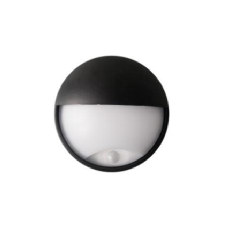 LED svítidlo s čidlem pohybu DITA ROUND 14W NW cover, černá
