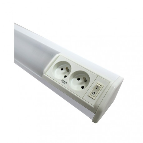 Svítidlo pod kuchyňskou linku se zásuvkou ROSA TL3020-15, bílé