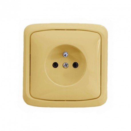 TANGO zásuvka 5518A-A2349 D kompletní béžová