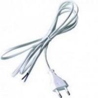 Flexo šňůra 2x0.75mm, 2m, bílá/PVC