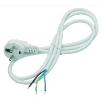 Flexo kabel 3m/3x1 bílá šňůra/PVC