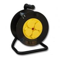 Prodlužovací kabel na bubnu 4 zásuvky/25 m IP44