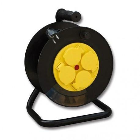 Prodlužovací kabel na bubnu 4 zásuvky/50 m IP44