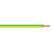 Vodič H07V-U (CY) 4 zelenožlutý