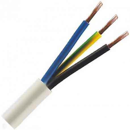 Kabel CYSY 3Cx1.5 kulatý bílý