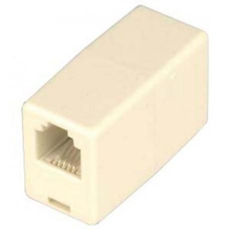 Konektor telefonní spojka 6-4p kabelová RJ11