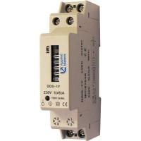 Elektroměr na DIN lištu DDS-1 jednofázový 5-45A