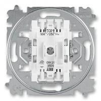 ABB žaluziový spínač 3559-A88345 č.1/0+1/0 s blokováním