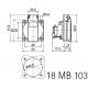 Zásuvka 230V Bals 7139 230V / 16A IP44