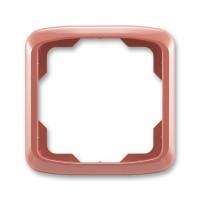 Rámeček ABB TANGO 3901A-B10 R2 jednonásobný vřesová červená