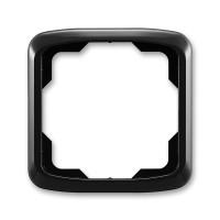 Rámeček ABB TANGO 3901A-B10 N jednonásobný vřesová černý