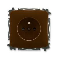 Zásuvka ABB TANGO 5519A-A02357 H hnědá