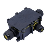 Solight voděodolná propojovací krabička WW004 3x2,5mm2, IP68, 2 x výstup