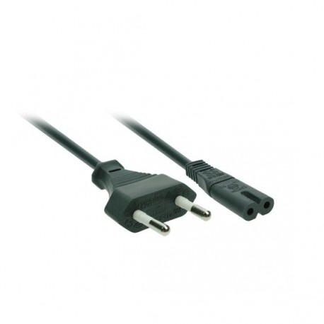 Flexo kabel k rádiu 2m černý