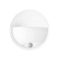 LED svítidlo s čidlem pohybu DITA ROUND W 14W NW cover, bílá