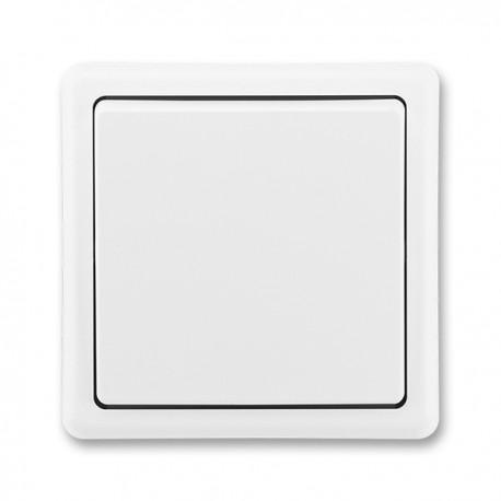 Křížový vypínač č.7 bílý 3553-07289 B1
