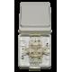 Venkovní vypínač JANTAR VP-1 IP44 na zeď č.1 vodotěsný