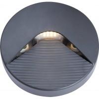 Nástěnné venkovní LED svítidlo SIDE 10 2W GRAY NW