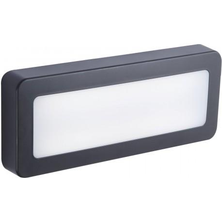 Nástěnné venkovní LED svítidlo SIDE 30 5W GRAY NW