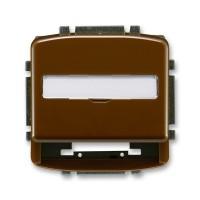 Kryt zásuvky Tango pro nosné masky 5014A-A100 H hnědý