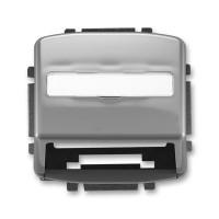 Kryt zásuvky Tango pro nosné masky 5014A-A100 S2 kouřově šedý