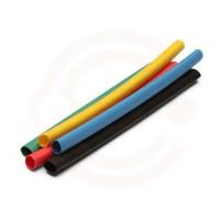 Sada smršťovacích bužírek Kolorit 6/3 mm  - 20ks různé barvy