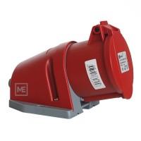 Zásuvka nástěnná ZN 324 4x32A / 400V IP44