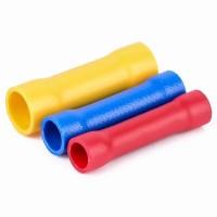 Faston-spojka pro kabel 0,5-1,5mm, červená